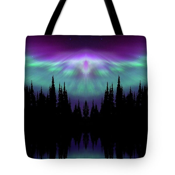 Angels Watching Over You Tote Bag