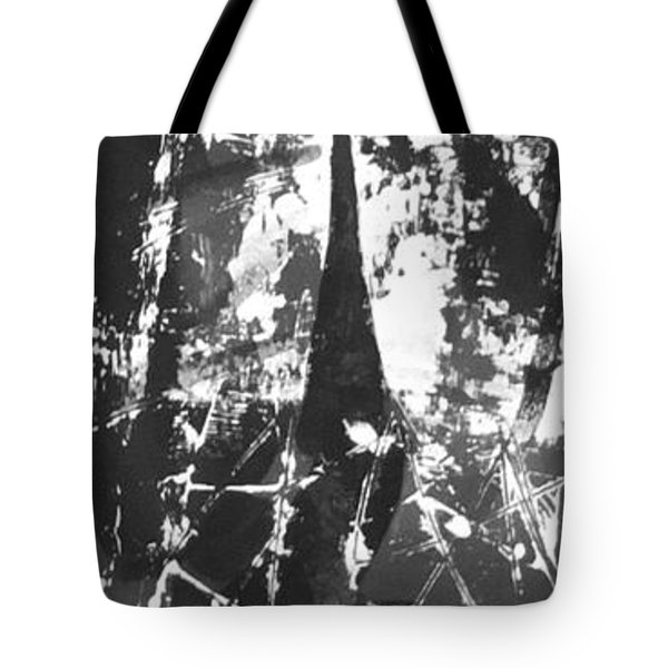 Tote Bag featuring the painting Anger by Carol Rashawnna Williams