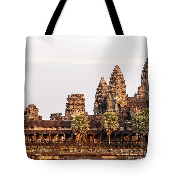 Angkor Wat 19 Tote Bag