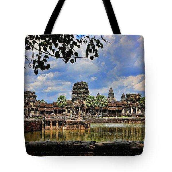 Angkor Wat Panorama  Tote Bag