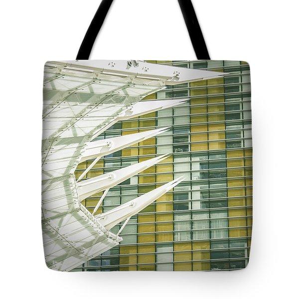 Angle Tote Bag by Bobby Villapando
