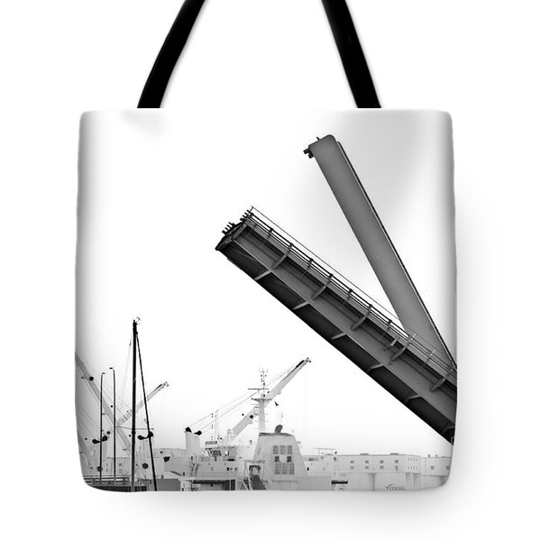 Tote Bag featuring the photograph Angle Of Approach by Stephen Mitchell