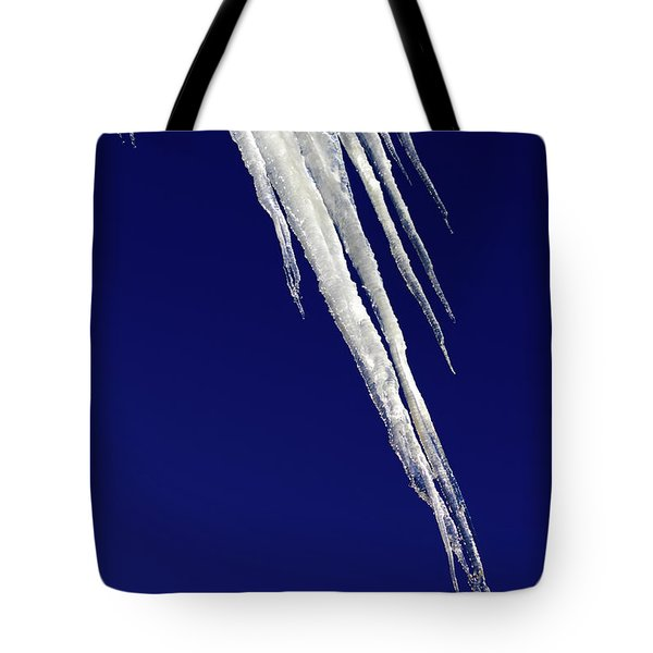 Angled Ice Tote Bag