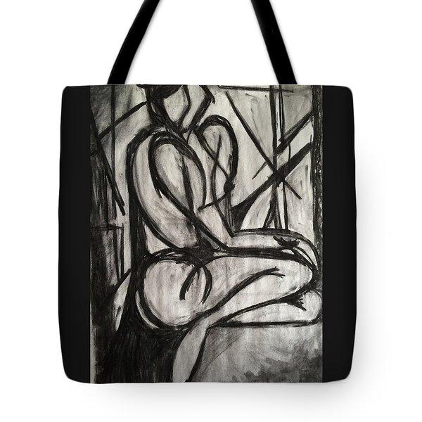 Angled Repose Tote Bag