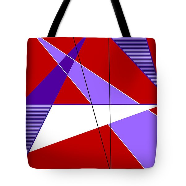 Angles And Triangles Tote Bag