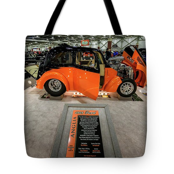 Tote Bag featuring the photograph Anglia by Randy Scherkenbach