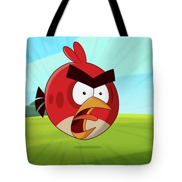 Angry Birds Tote Bag