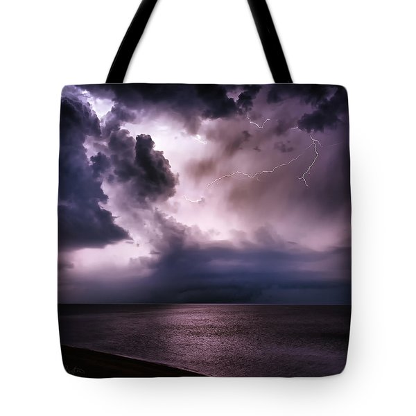 Angry Heavens Tote Bag