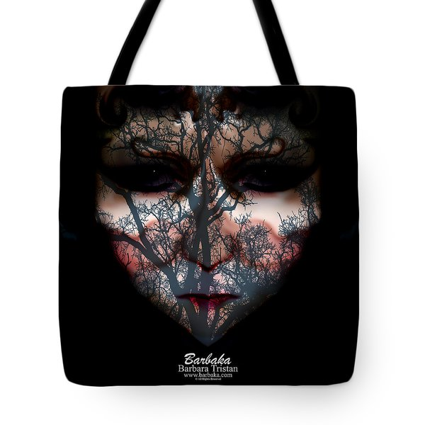 Angry Monster Child #4 Tote Bag
