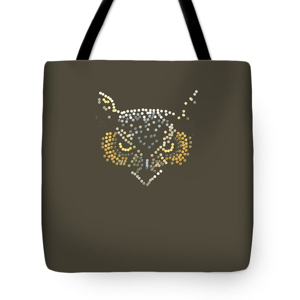 Angry Owl Transparent Background Tote Bag by R  Allen Swezey