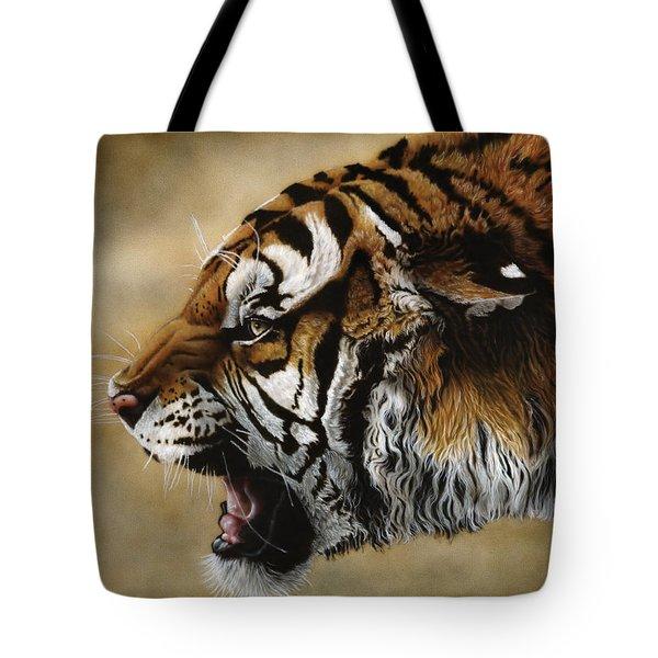 Angry Siberian Tote Bag