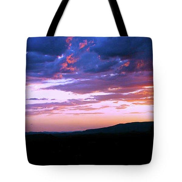 Angry Sky Tote Bag