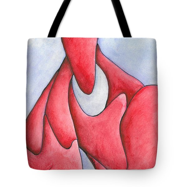 Angry Thoughts Tote Bag by Versel Reid