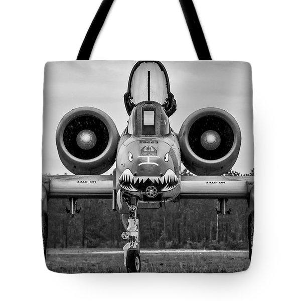 Angry, Wet Hog Tote Bag