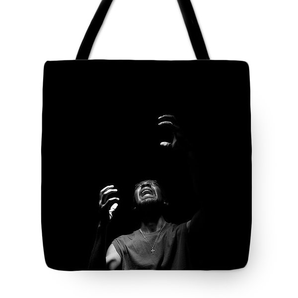 Anguish Tote Bag