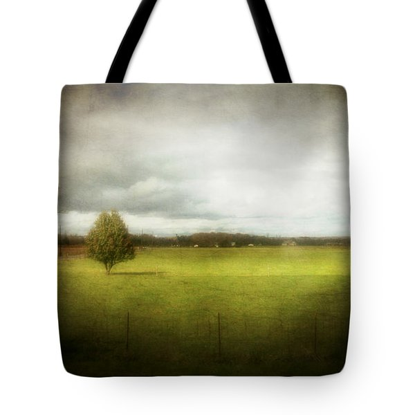 Angustown Pasture Tote Bag by Cynthia Lassiter