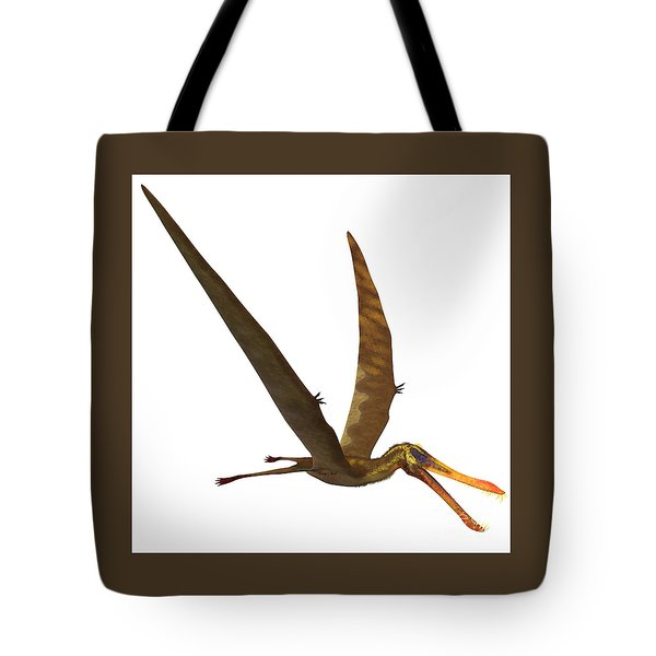 Anhanguera Pterosaur Tote Bag by Corey Ford