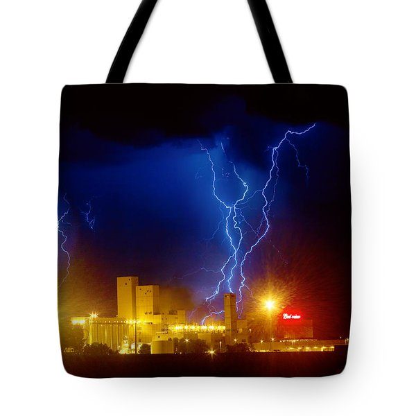 Anheuser-busch On Strikes Tote Bag by James BO  Insogna