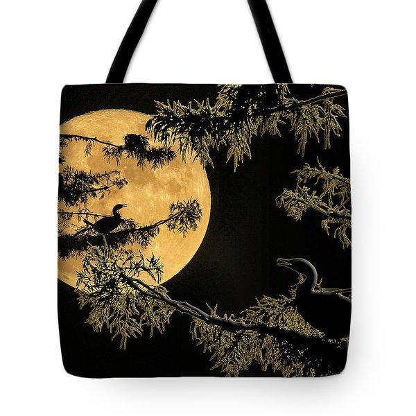 Anhingas In Full Moon Tote Bag