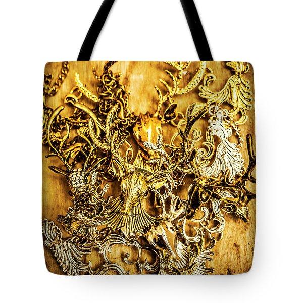 Animal Amulets Tote Bag