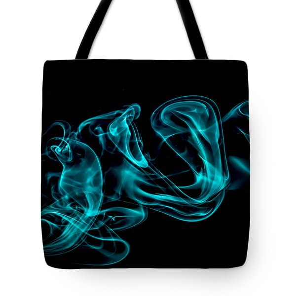 Artistic Smoke Illusion Tote Bag
