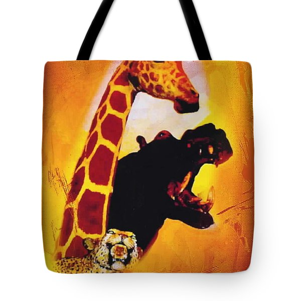 Animal Farm Tote Bag by Sadie Reneau