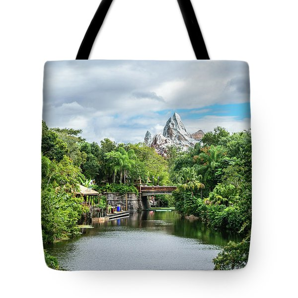 Expedition Everest Tote Bag