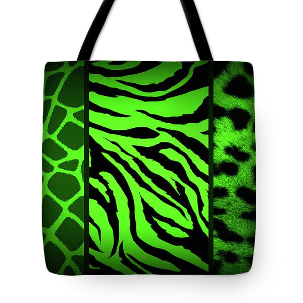 Animal Prints Tote Bag by Donna Bentley