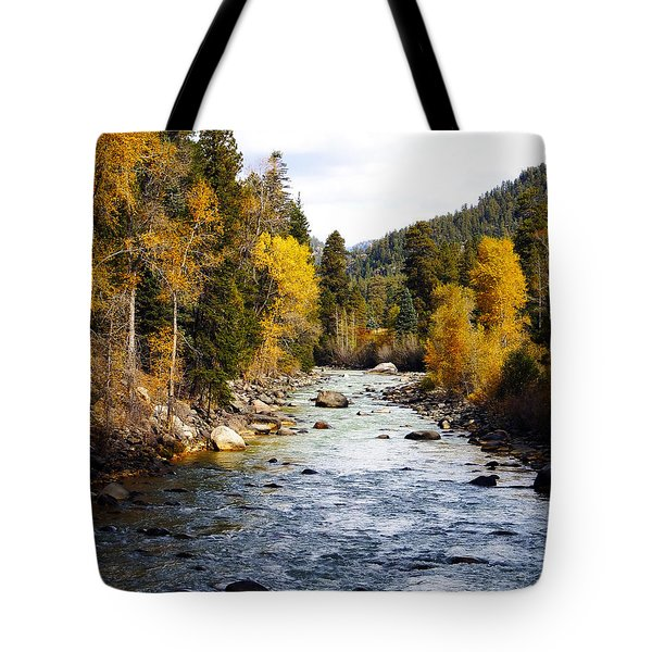 Tote Bag featuring the photograph Animas River by Kurt Van Wagner