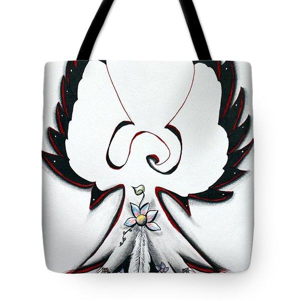 Anishinaabe Thunderbird Tote Bag