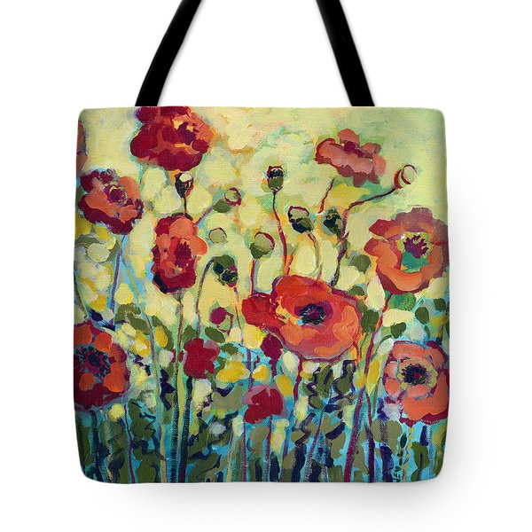 Anitas Poppies Tote Bag