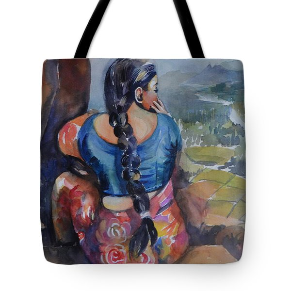 Anjani At Hampi Tote Bag