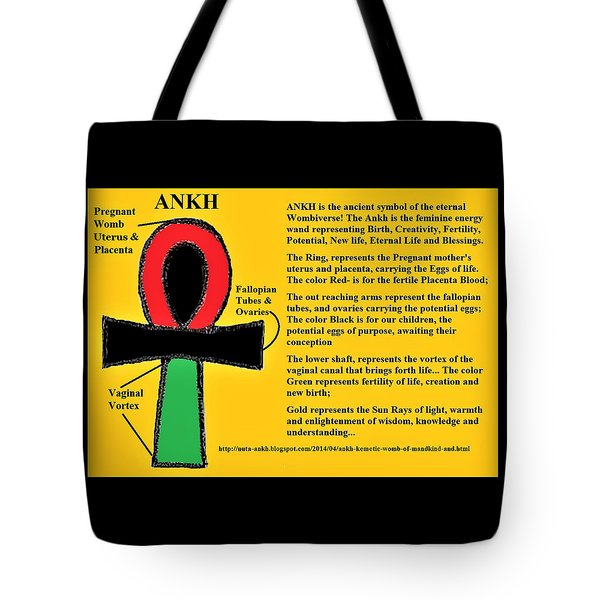 Ankh Meaning Tote Bag
