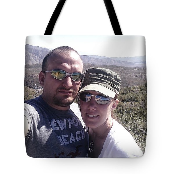 Ann And I Tote Bag