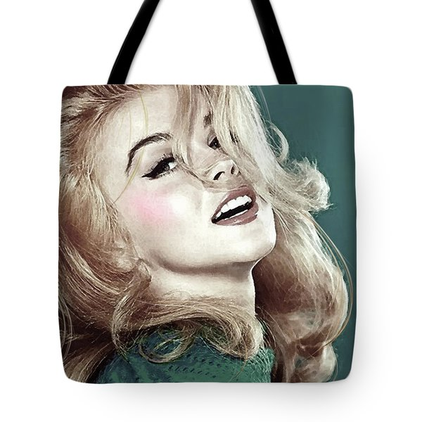 Ann Margret, Patio Diet Cola, Bye, Bye Birdie, Sterling Cooper Pryce, Mad Men Tote Bag
