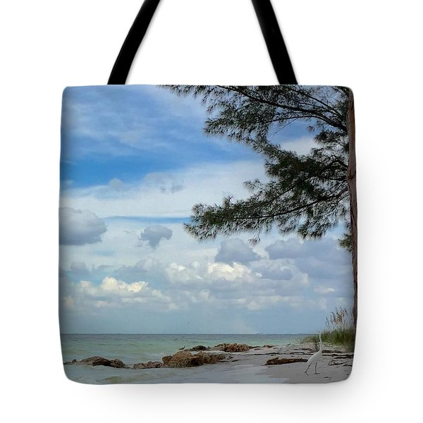 Tote Bag featuring the photograph Anna Maria Island  by Jean Marie Maggi
