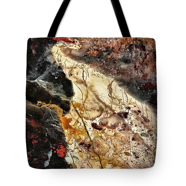 Tote Bag featuring the photograph Anna River by Walt Foegelle