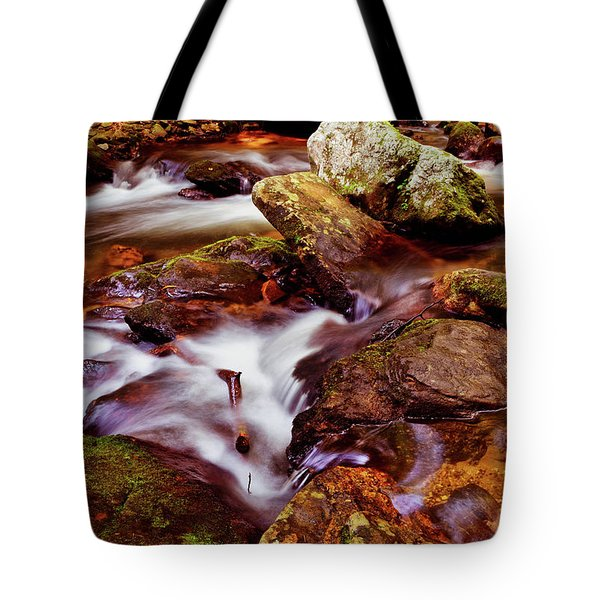Anna Ruby Falls - Smith Creek 006 Tote Bag