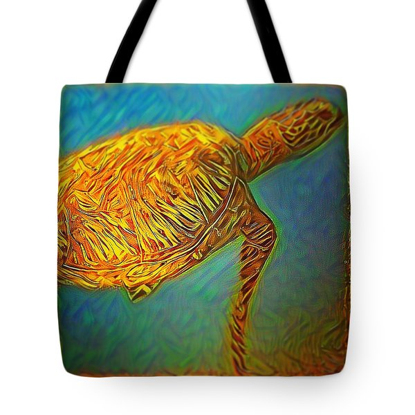 Annabelle The Turtle Tote Bag