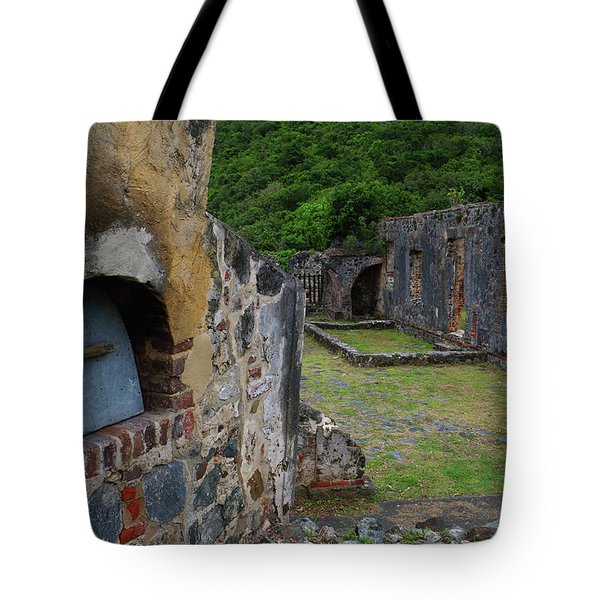 Tote Bag featuring the photograph Annaberg Sugar Mill Ruins At U.s. Virgin Islands National Park by Jetson Nguyen