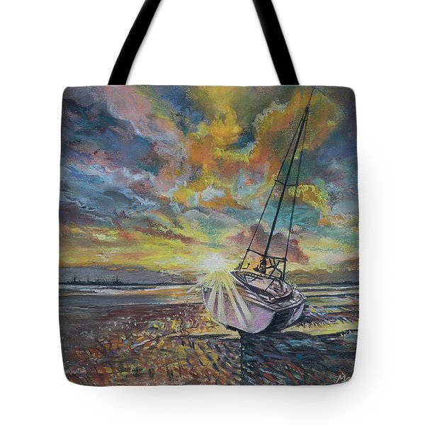 Annagassan Sunrise Tote Bag by Marty Garland