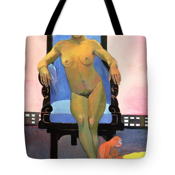 Annah The Javanese Tote Bag by Paul Gauguin