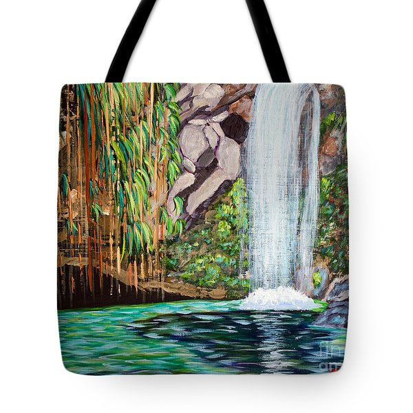 Annandale Waterfall Tote Bag