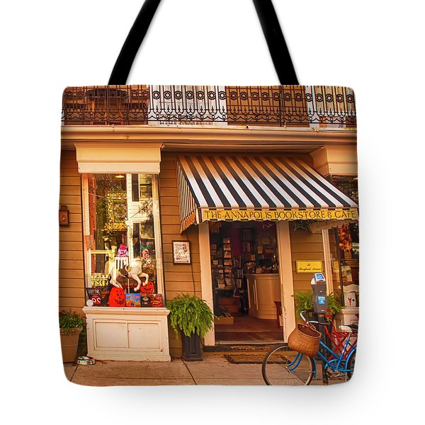 Annapolis Bookstore Tote Bag