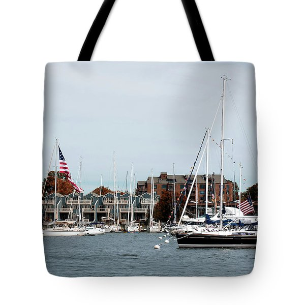 Annapolis Harbor Tote Bag