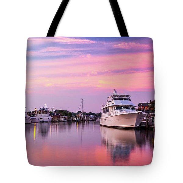 Annapolis Sunrise Tote Bag