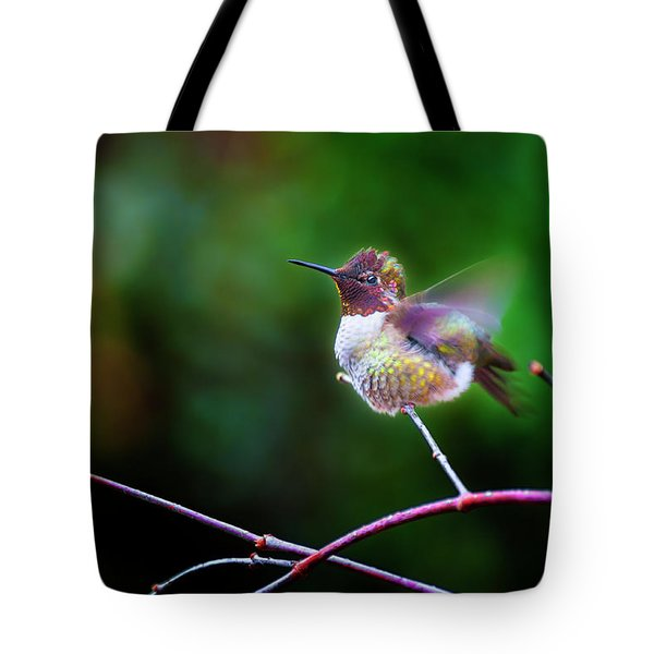 Anna's Hummingbird IIi Tote Bag