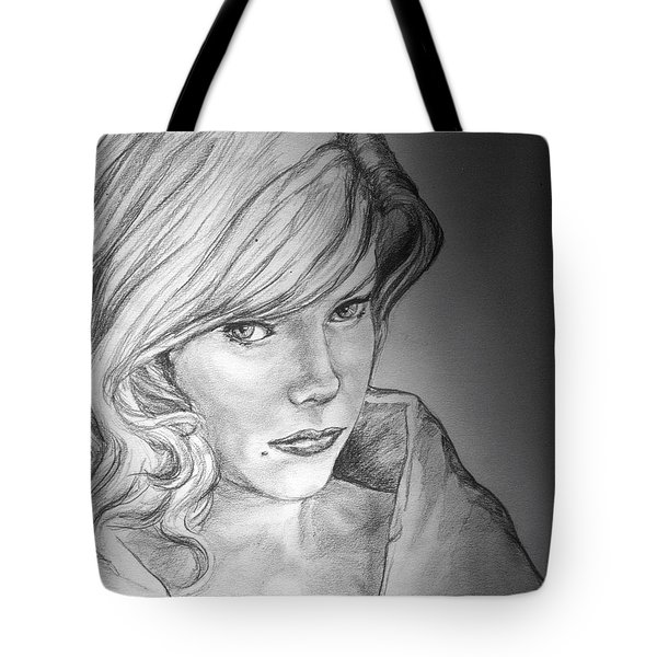 Anne Francis Tote Bag by Bryan Bustard