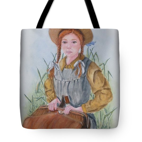 Anne Of Green Gables Tote Bag by Kelly Mills
