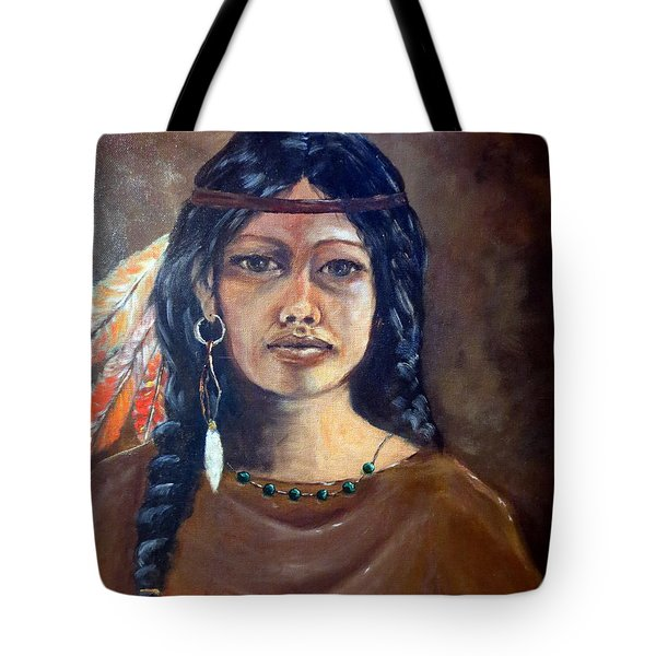 Anne Wolfe Tote Bag by Lee Piper